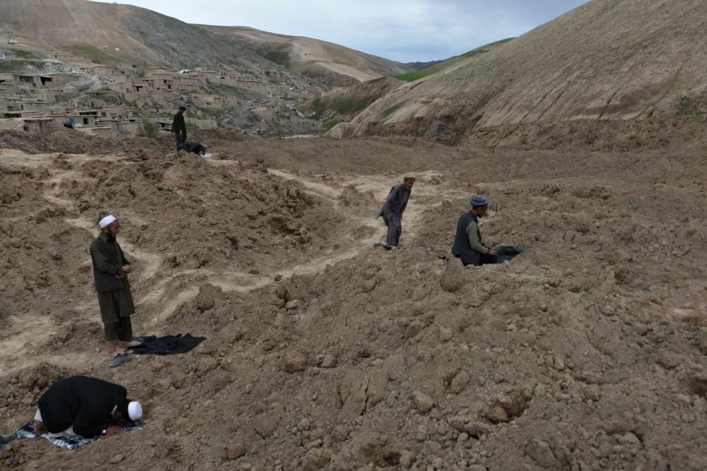 Afganistan'da heyelan faciası 6