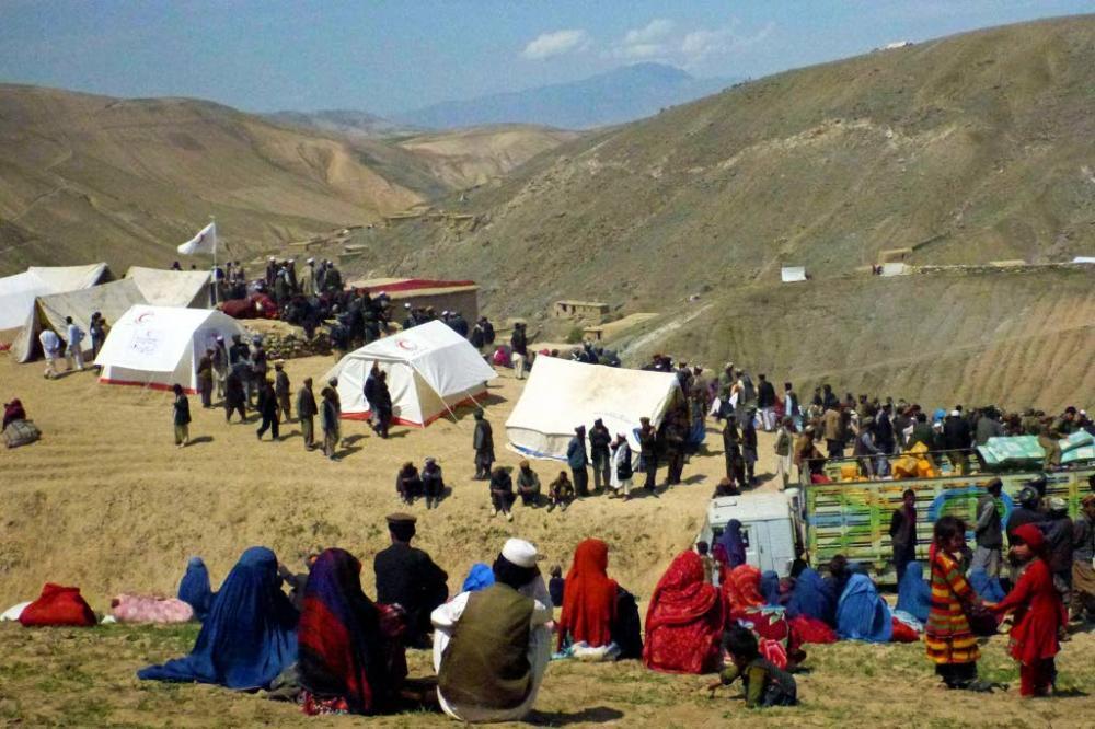 Afganistan'da heyelan faciası 9