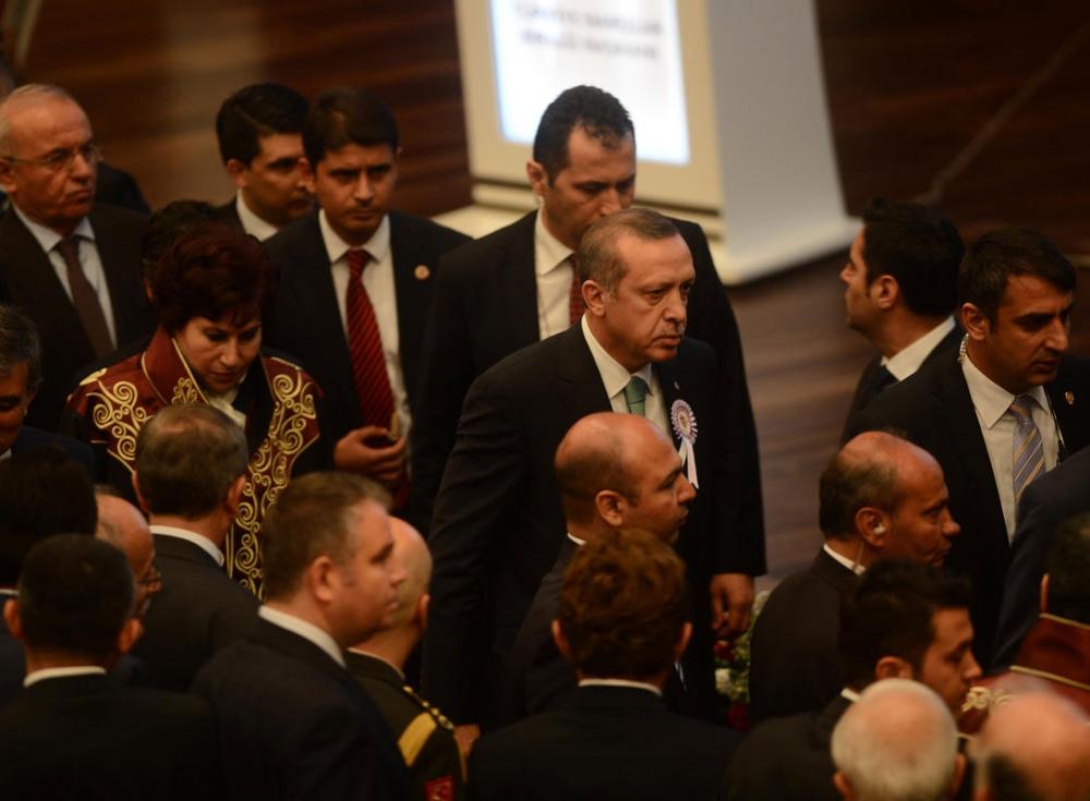 Danıştay'da gerilim! Erdoğan salonu terk etti 10