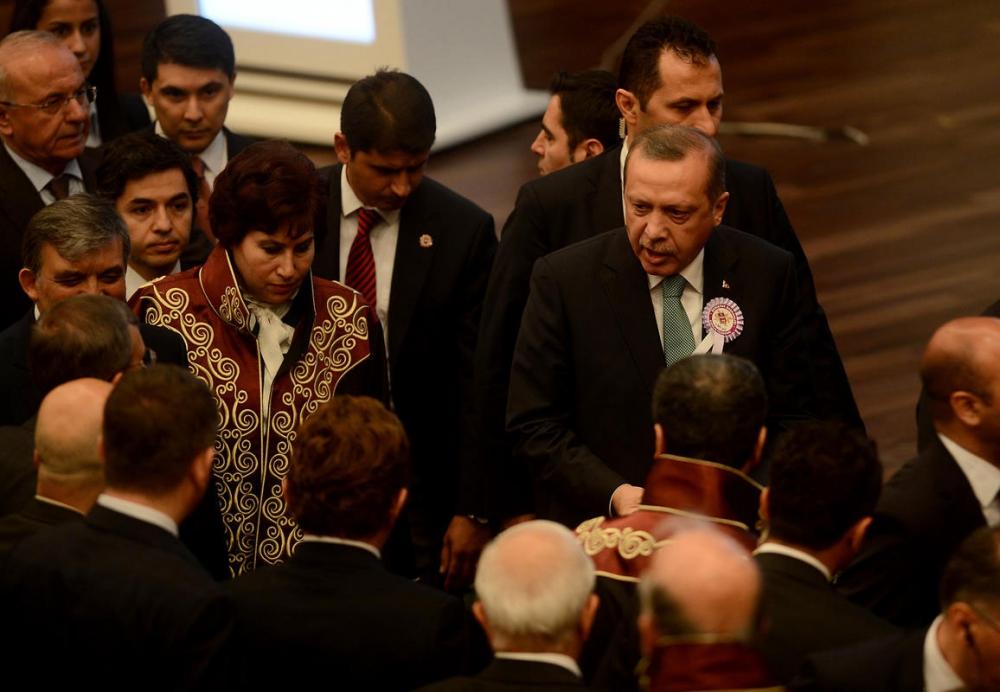 Danıştay'da gerilim! Erdoğan salonu terk etti 11