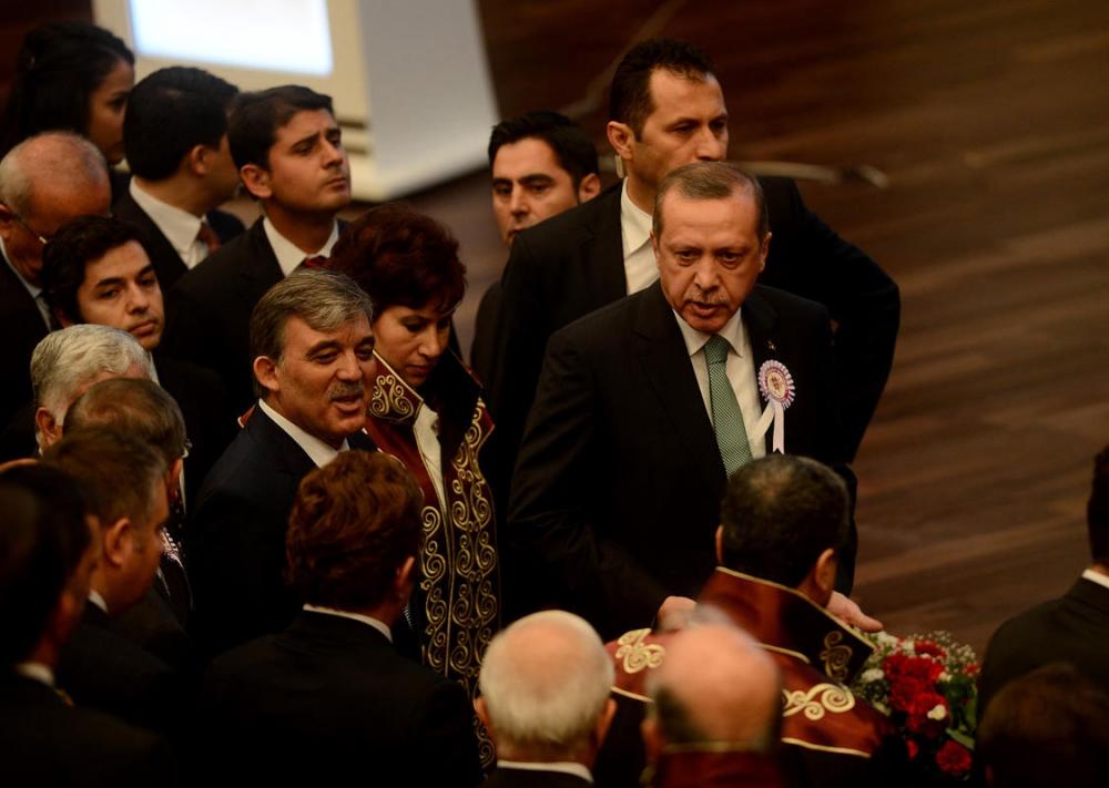 Danıştay'da gerilim! Erdoğan salonu terk etti 13