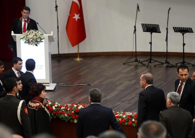 Danıştay'da gerilim! Erdoğan salonu terk etti 7