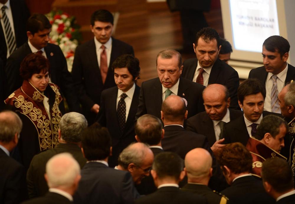 Danıştay'da gerilim! Erdoğan salonu terk etti 9