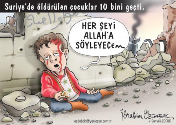 Suriye'de Öldürülen Çocuk sayısı 10 Bini Geçti 1