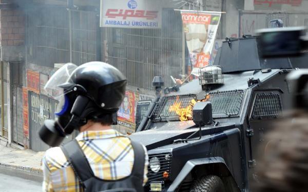 Okmeydanı'nda olaylar çıktı 24