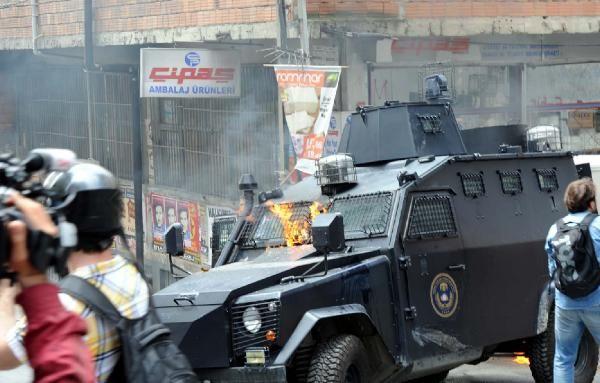 Okmeydanı'nda olaylar çıktı 27