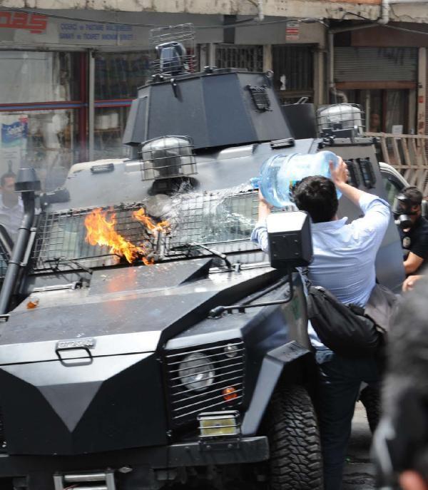 Okmeydanı'nda olaylar çıktı 28