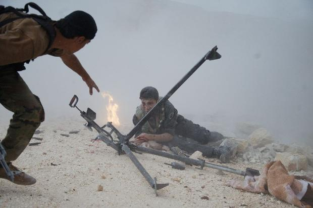 İşte Suriye'de savaşın fotoğrafları 1