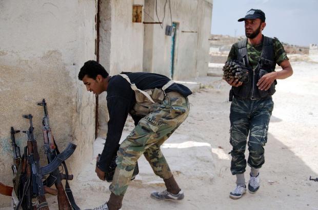 İşte Suriye'de savaşın fotoğrafları 10