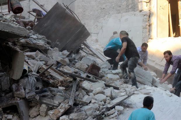 İşte Suriye'de savaşın fotoğrafları 11
