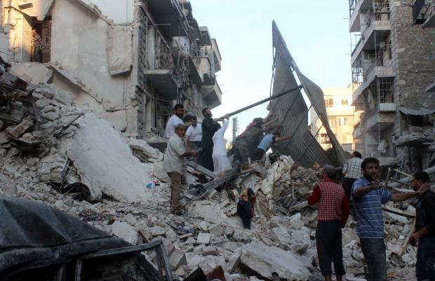 İşte Suriye'de savaşın fotoğrafları 12