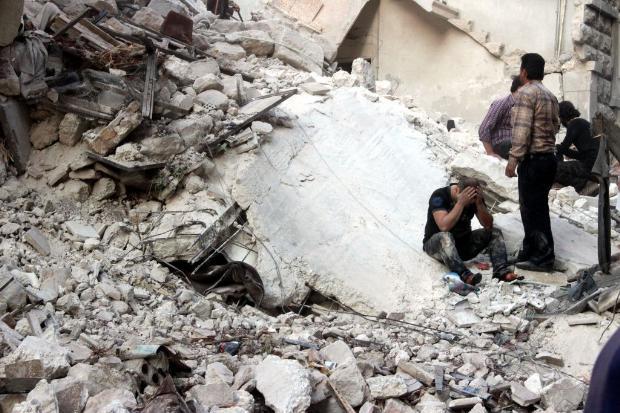 İşte Suriye'de savaşın fotoğrafları 13
