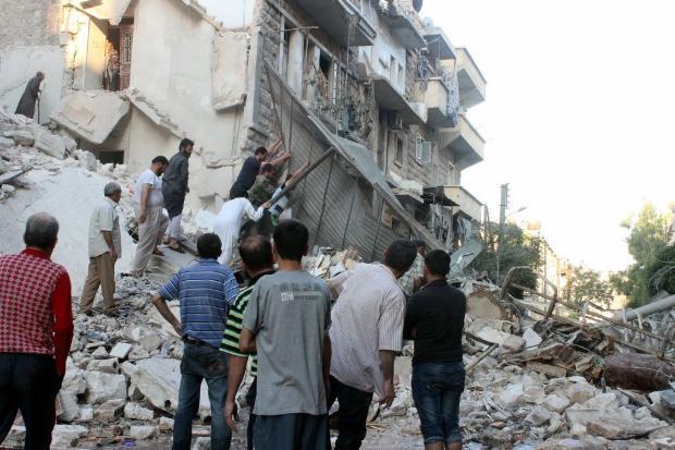 İşte Suriye'de savaşın fotoğrafları 14