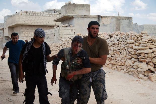 İşte Suriye'de savaşın fotoğrafları 15