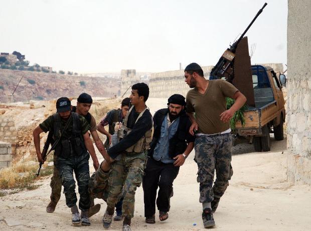 İşte Suriye'de savaşın fotoğrafları 16