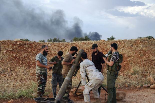 İşte Suriye'de savaşın fotoğrafları 18