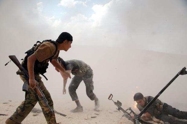 İşte Suriye'de savaşın fotoğrafları 2