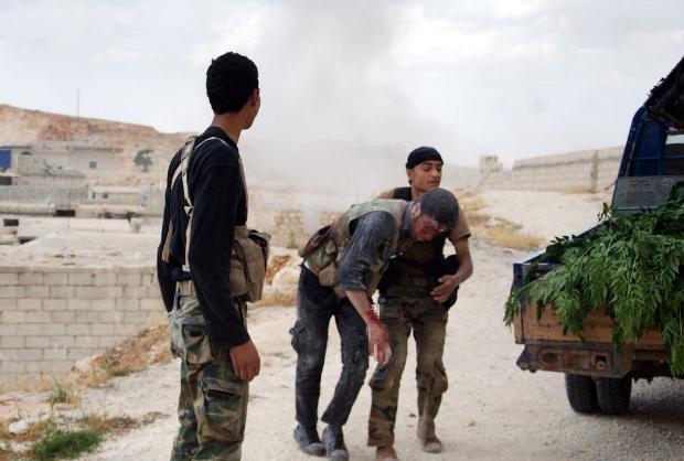 İşte Suriye'de savaşın fotoğrafları 3