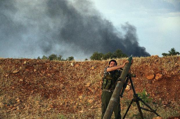 İşte Suriye'de savaşın fotoğrafları 4
