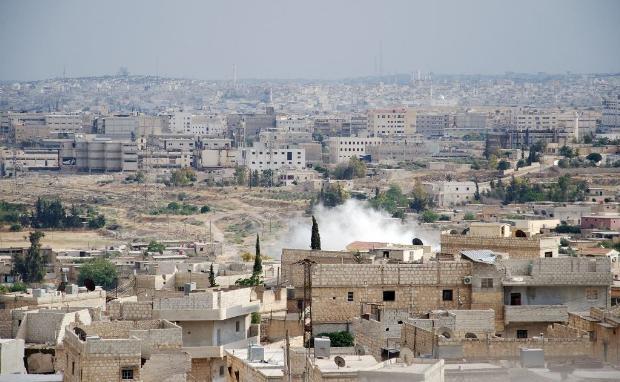 İşte Suriye'de savaşın fotoğrafları 5