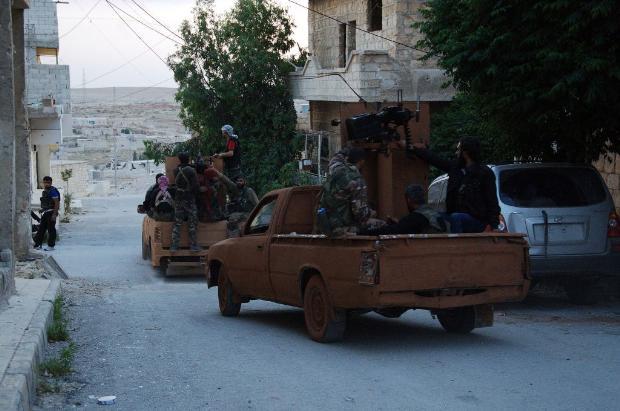 İşte Suriye'de savaşın fotoğrafları 8