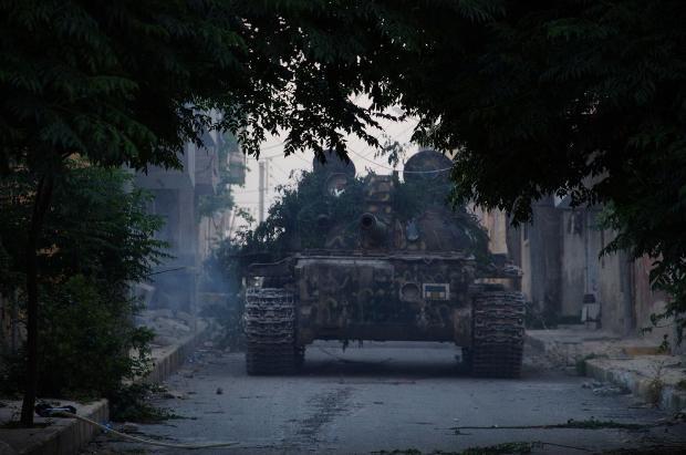 İşte Suriye'de savaşın fotoğrafları 9