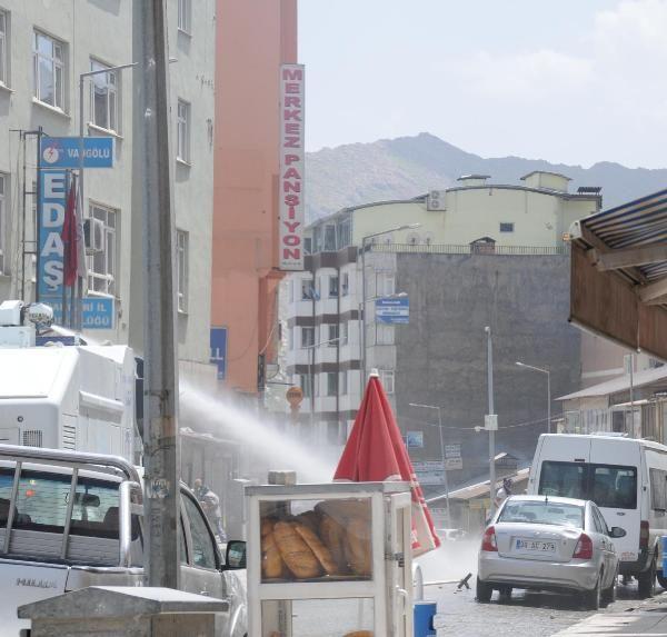 Hakkari kent merkezi karıştı 8