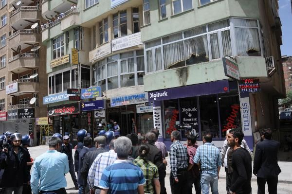 Hakkari kent merkezi karıştı 9