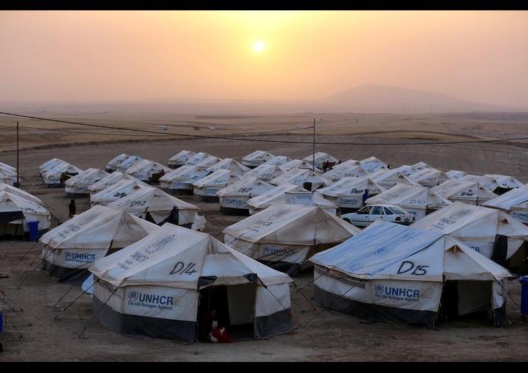 Sığınmacı kampında Ramazan 'MUSUL' 1