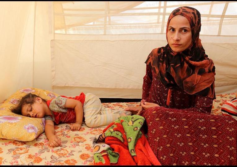 Sığınmacı kampında Ramazan 'MUSUL' 11