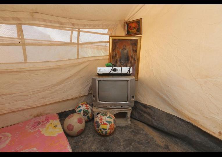 Sığınmacı kampında Ramazan 'MUSUL' 14
