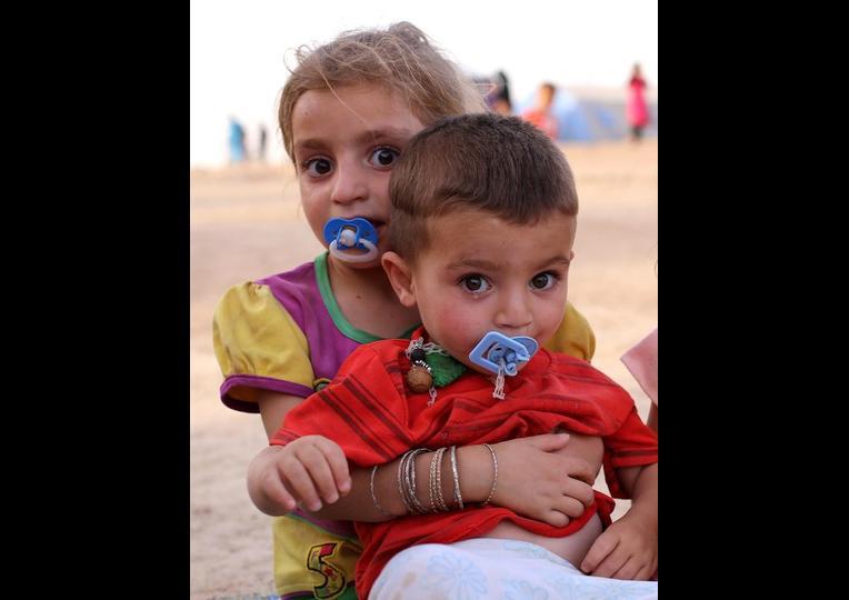 Sığınmacı kampında Ramazan 'MUSUL' 16