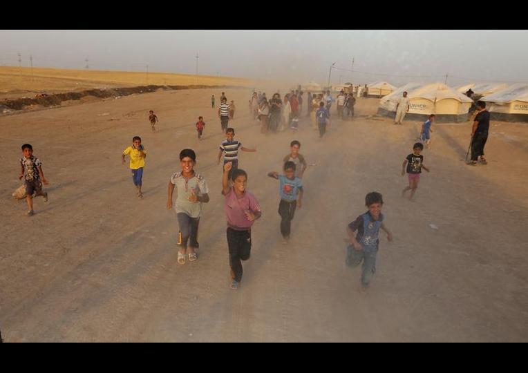 Sığınmacı kampında Ramazan 'MUSUL' 17
