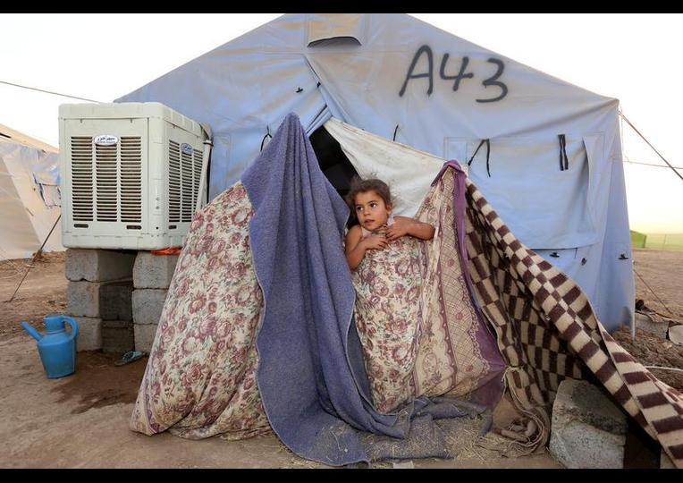 Sığınmacı kampında Ramazan 'MUSUL' 19