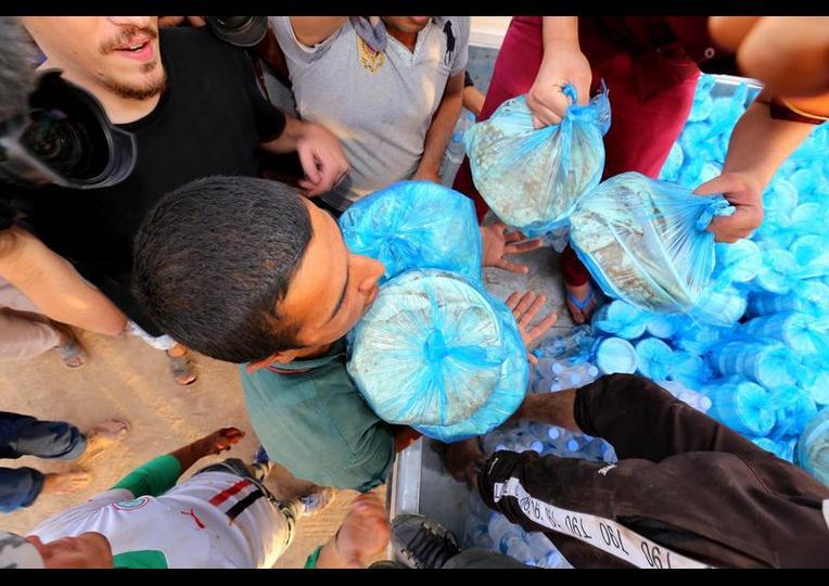 Sığınmacı kampında Ramazan 'MUSUL' 22