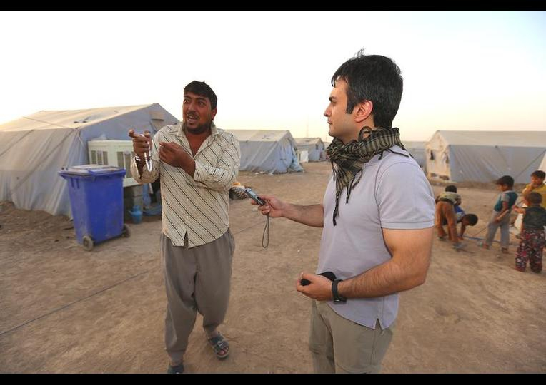 Sığınmacı kampında Ramazan 'MUSUL' 23