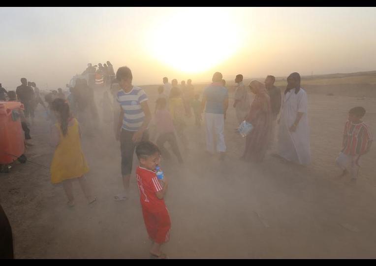 Sığınmacı kampında Ramazan 'MUSUL' 24