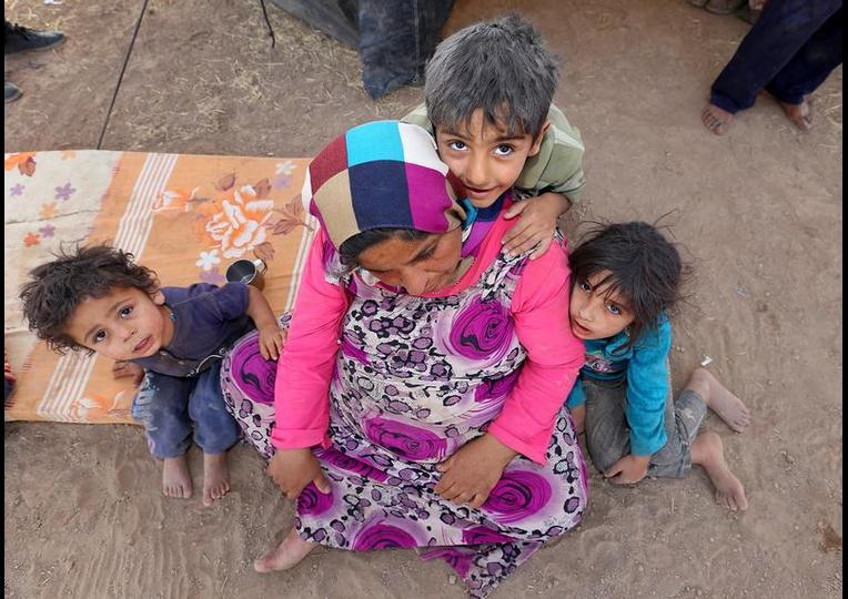 Sığınmacı kampında Ramazan 'MUSUL' 25