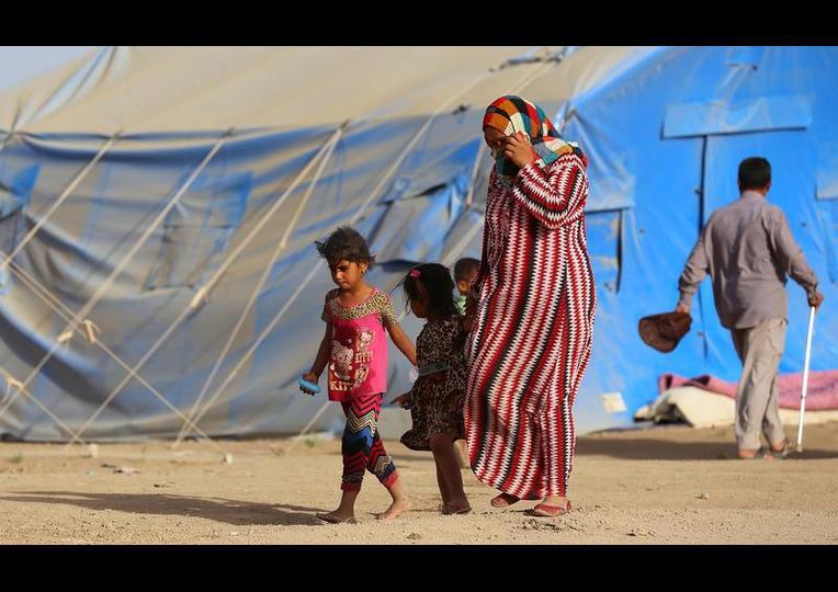 Sığınmacı kampında Ramazan 'MUSUL' 3