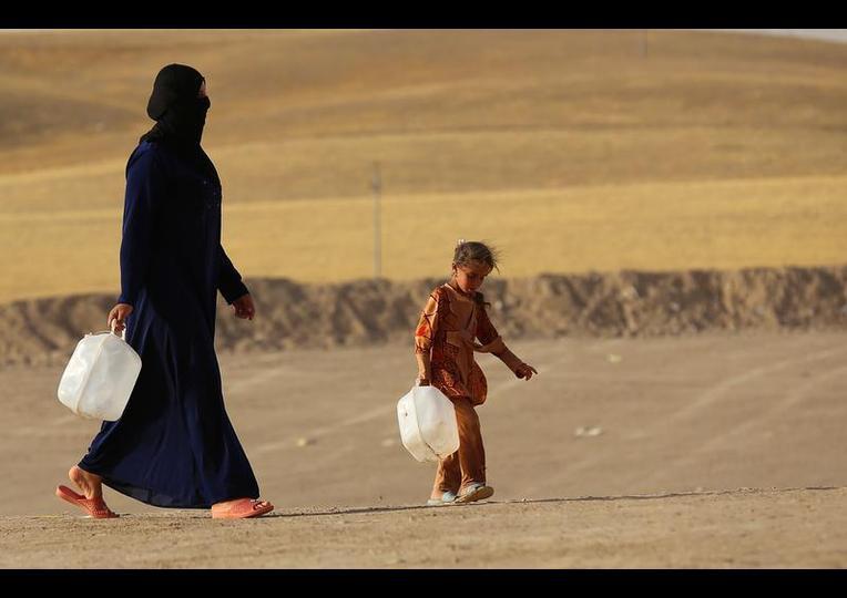 Sığınmacı kampında Ramazan 'MUSUL' 4