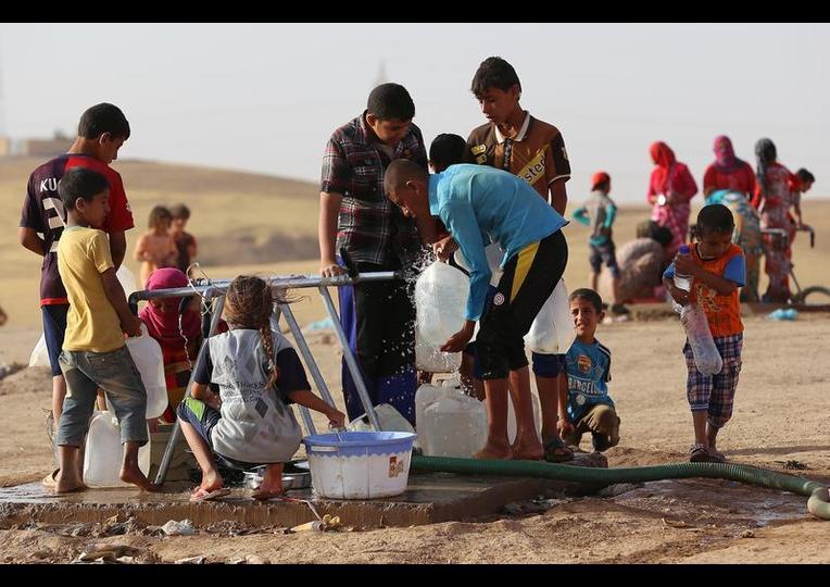Sığınmacı kampında Ramazan 'MUSUL' 5
