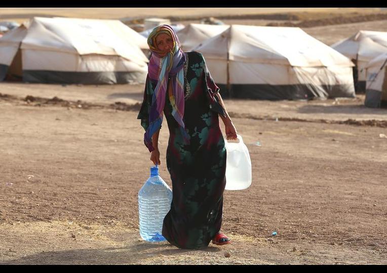 Sığınmacı kampında Ramazan 'MUSUL' 6