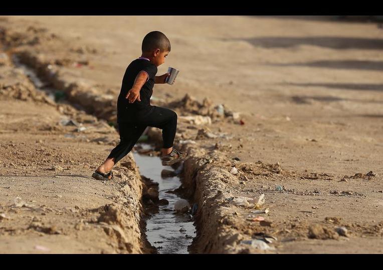 Sığınmacı kampında Ramazan 'MUSUL' 7