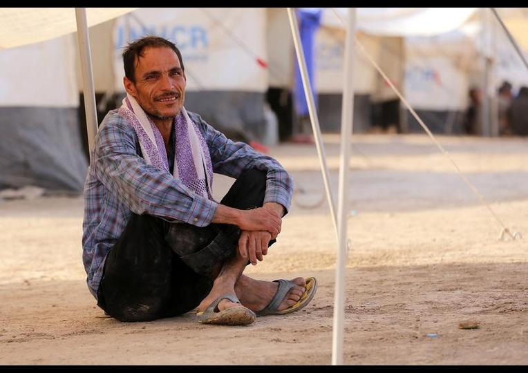 Sığınmacı kampında Ramazan 'MUSUL' 8
