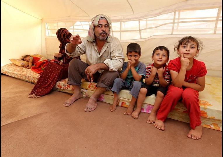 Sığınmacı kampında Ramazan 'MUSUL' 9