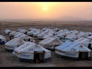 Sığınmacı kampında Ramazan 'MUSUL'