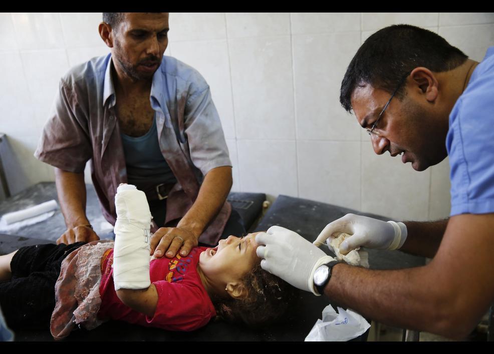 İsrail sivilleri vuruyor 1