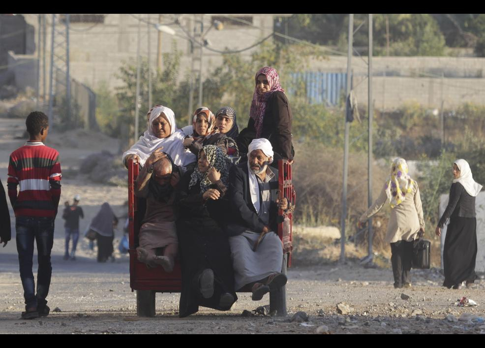 İsrail sivilleri vuruyor 11