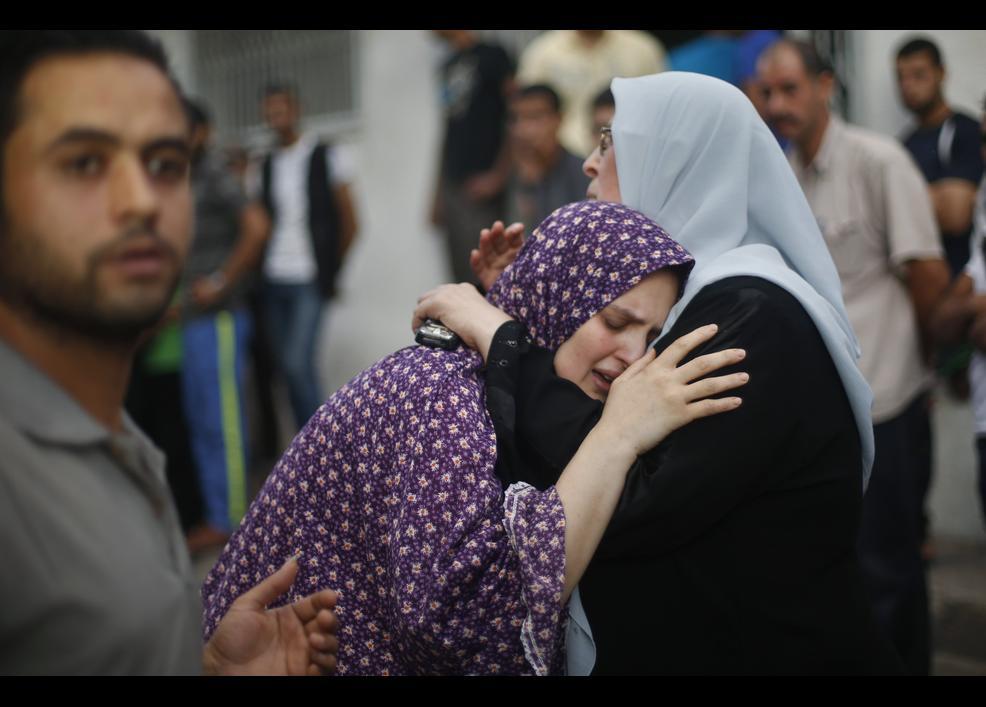 İsrail sivilleri vuruyor 2