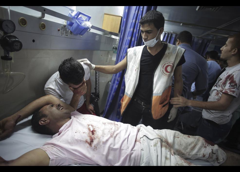 İsrail sivilleri vuruyor 7